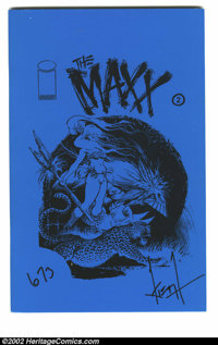 Maxx #2 Ashcan (Image, 1993) Condition = NM. Limited ashcan edition #673 of 800. Before The Maxx became an acclaimed tel...