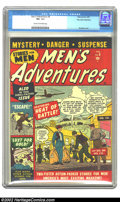 Golden Age (1938-1955):Adventure, Men's Adventures #6 Palo Alto pedigree (Atlas, 1951) CGC VF+ 8.5 Cream to off-white pages. Overstreet 2002 VF 8.0 value = $9...