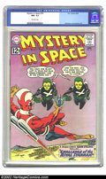 Silver Age (1956-1969):Science Fiction, Mystery in Space #76 (DC, 1962) CGC NM- 9.2 Off-white pages. Carmine Infantino and Murphy Anderson art. Overstreet 2002 NM 9...