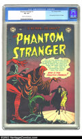 Golden Age (1938-1955):Horror, The Phantom Stranger #1 (DC, 1952) CGC VG 4.0 Cream to off-whitepages. This issue features the first appearance of the Phan...