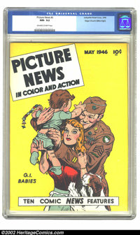 Picture News #5 (Lafayette Street Corp., 1946) CGC NM- 9.2 Off-white to white pages. Overstreet 2002 NM 9.4 value = $130...
