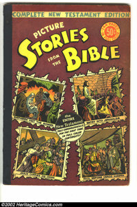 Picture Stories from the Bible Complete New Testament (EC, 1946) Condition: VG/FN. This is a very solid copy of a very s...
