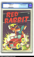 Golden Age (1938-1955):Funny Animal, Red Rabbit Comics #7 Mile High pedigree (Dearfield, 1948) CGC VF/NM9.0 Off-white to white pages. Overstreet 2002 NM 9.4 val...