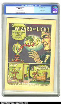 "Reddy Kilowatt Comic Book No. 2 (EC, 1956) CGC NM 9.4 Cream to off-white pages. Giveaway comic. ""Wizard of Light.&q..."