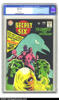 Silver Age (1956-1969):Superhero, Secret Six #2 (DC, 1968) CGC NM- 9.2 Off-white pages. Super Nick Cardy cover. Overstreet 2002 NM 9.4 value = $40....