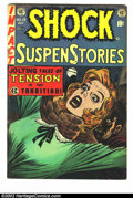Golden Age (1938-1955):Horror, Shock SuspenStories #15 (EC, 1954) Condition = VG+. ...