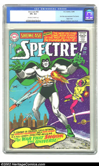 Showcase #60 (DC, 1966) CGC VF+ 8.5 Off-white to white pages. This issue features the first silver age appearance of the...