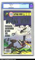 Bronze Age (1970-1979):Science Fiction, Space War #28 (Charlton Publishing, 1978) CGC NM+ 9.6 White pages. This is the highest grade copy. Extremely nice, high-grad...