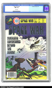 Space War #28 (Charlton Publishing, 1978) CGC NM+ 9.6 White pages. This is the highest grade copy. Extremely nice, high-...