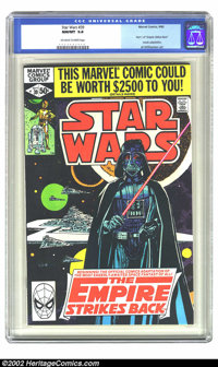 """Star Wars #39 (Marvel, 1980) CGC NM/MT 9.8 Off-white to white pages. This issue contains part 1 of """"The Empire Stri..."""