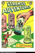 Golden Age (1938-1955):Science Fiction, Strange Adventures #35 (DC, 1953) Condition = VG. ...