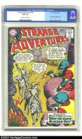 Silver Age (1956-1969):Science Fiction, Strange Adventures #144 (DC, 1962) CGC NM- 9.2 Off-white to white pages. Only Atomic Knights cover. Overstreet 2002 NM 9.4 v...