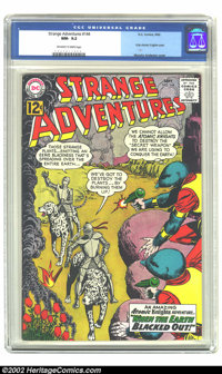 Strange Adventures #144 (DC, 1962) CGC NM- 9.2 Off-white to white pages. Only Atomic Knights cover. Overstreet 2002 NM 9...