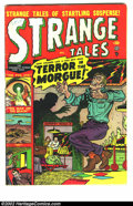Golden Age (1938-1955):Horror, Strange Tales #4 (Atlas, 1951) Condition = VG/FN. ...