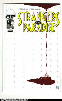Strangers in Paradise #2 (Antarctic Press, 1993) Condition: FN+. With a print run of only 2000, this rare small press co...