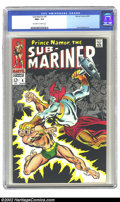 Silver Age (1956-1969):Superhero, The Sub-Mariner #4 (Marvel, 1968) CGC NM+ 9.6. Overstreet 2002 NM 9.4 value=$75....