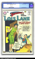 Superman's Girl Friend Lois Lane #3 (DC, 1958) CGC VF- 7.5 Off-white pages. Very scarce 1950s DC. Overstreet 2002 VF 8.0...
