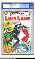 Silver Age (1956-1969):Superhero, Superman's Girl Friend Lois Lane #70 (DC, 1966) CGC VF/NM 9.0 Off-white to white pages. First Silver Age Catwoman. Appearanc...