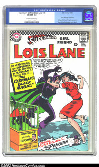 Superman's Girl Friend Lois Lane #70 (DC, 1966) CGC VF/NM 9.0 Off-white to white pages. First Silver Age Catwoman. Appea...