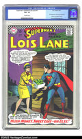 Silver Age (1956-1969):Superhero, Superman's Girl Friend Lois Lane #71 (DC, 1967) CGC NM- 9.2 Off-white pages. 2nd Silver Age Catwoman appearance. Batman and ...