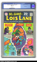 Silver Age (1956-1969):Superhero, Superman's Girl Friend Lois Lane #77 (DC, 1967) CGC NM- 9.2 Off-white pages. Eighty Page Giant. Overstreet 2002 NM 9.4 value...