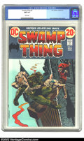 Bronze Age (1970-1979):Horror, Swamp Thing #2 (DC, 1973) CGC NM 9.4 White pages. Overstreet 2002NM 9.4 value = $55. ...