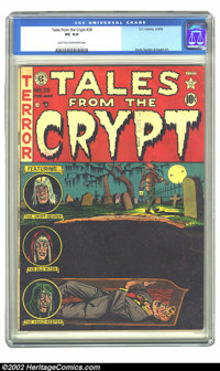 Tales From the Crypt #28 (EC, 1952) CGC VG 4.0 Light tan to off-white pages. Davis, Kamen & Ingels art. Overstreet 2...