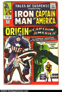 Tales of Suspense Lot (Marvel, 1964-1965). Nice run of #63-72 of this classic title starring Iron Man and Captain Americ...