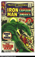 Silver Age (1956-1969):Science Fiction, Tales of Suspense Lot (Marvel, 1967). Iron Man and Captain America co-star in this long-running anthology. A run of #93-99; ... (Total: 7 Comic Books Item)