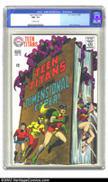 Silver Age (1956-1969):Superhero, Teen Titans #16 (DC, 1968) CGC NM- 9.2 Off-white pages. Overstreet 2002 NM 9.4 value = $50....