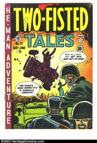 Two-Fisted Tales #21 (EC, 1951) Condition = FN+