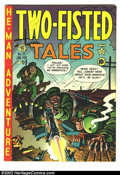 Golden Age (1938-1955):War, Two-Fisted Tales #25 (EC, 1952) Condition = F/VF. ...
