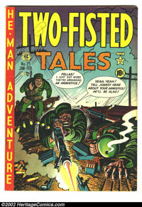 Two-Fisted Tales #25 (EC, 1952) Condition = F/VF