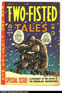 Two-Fisted Tales #26 (EC, 1952) Condition = VG/FN