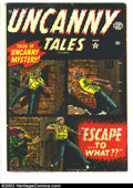 Golden Age (1938-1955):Horror, Uncanny Tales #3 (Atlas, 1952) Condition = FN. ...