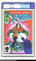 Modern Age (1980-Present):Superhero, The Uncanny X-Men #182 (Marvel, 1984) CGC NM+ 9.6 Off-white to white pages. John Romita Jr. and Dan Green art. Overstreet 20...