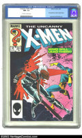 Modern Age (1980-Present):Superhero, The Uncanny X-Men #201 (Marvel, 1986) CGC NM+ 9.6 Off-white to white pages. First appearance of Cable as baby Nathan. Overst...