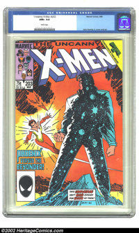 The Uncanny X-Men #203 (Marvel, 1986) CGC NM+ 9.6 White pages. John Romita Jr. cover and art. Overstreet 2002 NM 9.4 val...