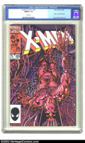 Modern Age (1980-Present):Superhero, The Uncanny X-Men #205 (Marvel, 1986) CGC NM/MT 9.8 White pages. Contains the origin of Lady Deathstrike. Overstreet 2002 NM...