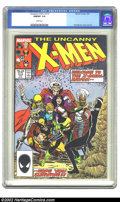 Modern Age (1980-Present):Superhero, The Uncanny X-Men #219 (Marvel, 1987) CGC NM/MT 9.8 White pages. Overstreet 2002 NM 9.4 value = $6....