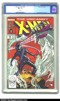 Modern Age (1980-Present):Superhero, The Uncanny X-Men #230 (Marvel, 1988) CGC NM+ 9.6 White pages. Overstreet 2002 NM 9.4 value = $6....