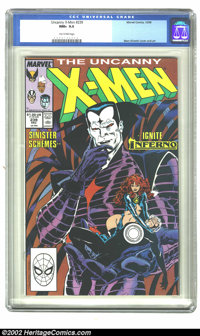 The Uncanny X-Men #239 (Marvel, 1988) CGC NM+ 9.6 Tan to pink pages. Overstreet 2002 NM 9.4 value = $6