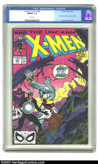 The Uncanny X-Men #248 (Marvel, 1989) CGC NM/MT 9.8 White pages. First Jim Lee art on Uncanny X-Men. Overstreet 2002 NM...