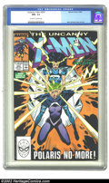 Modern Age (1980-Present):Superhero, The Uncanny X-Men #250 (Marvel, 1989) CGC NM+ 9.6 Off-white to white pages. Overstreet 2002 NM 9.4 value = $6. ...