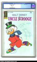Bronze Age (1970-1979):Cartoon Character, Uncle Scrooge #111 (Dell, 1974) CGC NM+ 9.6 White pages. Overstreet2002 NM 9.4 value = $30. ...