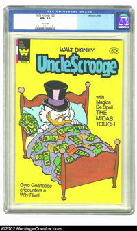Uncle Scrooge #207 (Dell, 1984) CGC NM+ 9.6 White pages. Overstreet 2002 NM 9.4 value = $22
