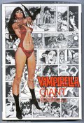 "Bronze Age (1970-1979):Horror, Vampirella Giant Poster Puzzle (Warren, 1974). A 15"" x 21"" posterpuzzle featuring a glamourous rendition of Vampy, with all..."