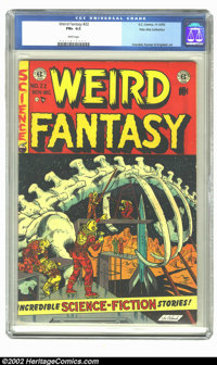 Weird Fantasy #22 Palo Alto pedigree (EC, 1953) CGC FN+ 6.5 White pages. Final issue. Palo Alto collection. Crandall, Ka...