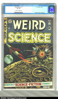 Golden Age (1938-1955):Science Fiction, Weird Science #11 (EC, 1952) CGC VF 8.0 Cream to off-white pages.Orlando, Kamen, and Wood art. Overstreet 2002 VF 8.0 value...