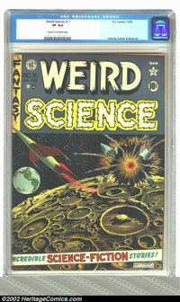 Weird Science #11 (EC, 1952) CGC VF 8.0 Cream to off-white pages. Orlando, Kamen, and Wood art. Overstreet 2002 VF 8.0 v...